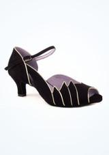 Zapatos de Baile Danube 1404 Merlet 5cm Negro. [Negro]