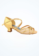 Zapato Gold para bailes salon y latino 3,8 cm Ray Rose Oro imagen principal. [Oro]