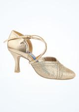 Zapatos Sparkle de salon y latino 6.35 cm Ray Rose Plata imagen principal. [Plata]