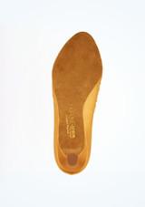 Zapato Ion de salon de raso 5 cm Ray Rose Marrón suela. [Marrón]