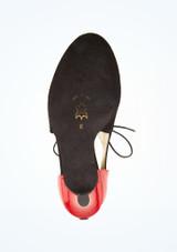 Zapatos de baile Talia Nueva Epoca de 7.62 cm Negro-Rojo suela. [Negro-Rojo]