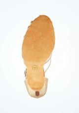 Zapato de baile Aria de Anna Kern de 7.62 cm Oro suela. [Oro]
