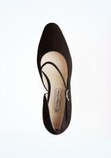Zapatos de baile Sarah Werner Kern de 6,35 cm Negro superior. [Negro]