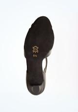 Zapatos de baile Astrid Werner Kern de 6,35 cm Negro suela. [Negro]