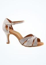 Zapatos de Baile Lila Rummos 6cm Plata imagen principal. [Plata]