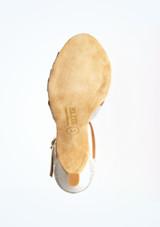 Zapatos de Baile Lila Rummos 6cm Plata suela. [Plata]