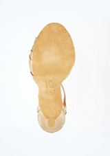 Zapatos de baile Ava Rummos de 6 cm Oro suela. [Oro]