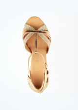 Zapatos de baile Ava Rummos de 6 cm Oro superior. [Oro]
