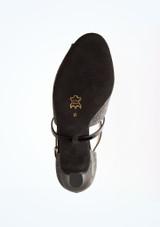 Zapatos de baile Holly Werner Kern de 6,35 cm Negro suela. [Negro]