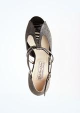 Zapatos de baile Holly Werner Kern de 6,35 cm Negro superior. [Negro]
