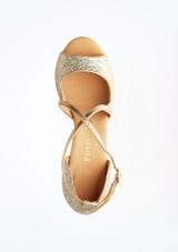 Zapatos de baile Ria Rummos de 6 cm Plata superior. [Plata]