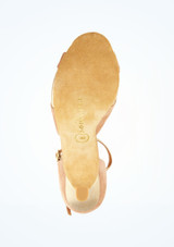 Zapatos de baile Orla Rummos de 6 cm Marrón suela. [Marrón]