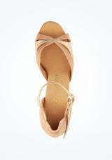 Zapatos de baile Orla Rummos de 6 cm Marrón superior. [Marrón]