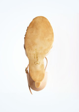 Zapatos de baile Amelia Rummos de 7 cm Marrón Claro suela. [Marrón Claro]