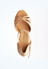 Zapatos de baile Amelia Rummos de 7 cm Marrón Claro superior. [Marrón Claro]