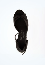 Zapatos de baile Nadia Rummos de 5 cm Negro superior. [Negro]