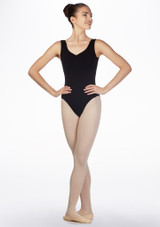 Freed RAD Bethany Maillot Negro frontal. [Negro]