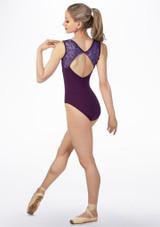 Maillot Ballet Sin Mangas con Encaje y Apertura So Danca