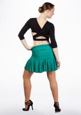 Move Estrella falda latino Verde trasera. [Verde]