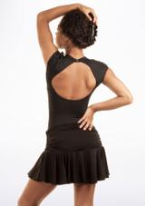 Move Estrella falda latino Negro lateral. [Negro]