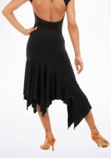 Falda de Baile Juliana Move Dance Negro trasera. [Negro]