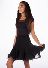 Falda de Baile Elyse Move Dance Negro. [Negro]