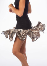 Falda de Baile Elyse Move Dance Negro-Multicolor #2. [Negro-Multicolor]