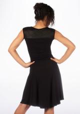 So Danca Vestido con encaje floral* Negro #3. [Negro]