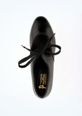 Tappers and Pointers Zapatos claque tacon cubano negros #2. [Negro]