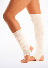 Calentadores con tira para el pie, 60 cm White [Blanco]