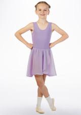 Move Heidi Falda Cintura Elastica Violeta frontal. [Violeta]