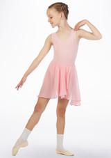 Move Heidi Falda Cintura Elastica Rosa frontal.
