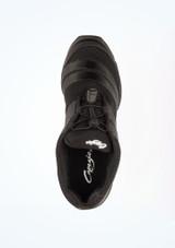 Sneakers Danza Spira Capezio Negro #2. [Negro]
