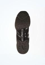 Sneakers Danza Spira Capezio Negro #3. [Negro]