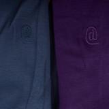Dincwear Calentadores de piernas reversibles Purple [Violeta-Azul]