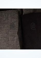 Dincwear Calentadores de piernas reversibles Black [Negro-Gris]