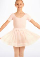 Falda de Ballet de Gasa con Lunares Tappers and Pointers Rosa. [Rosa]