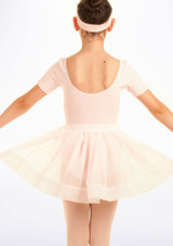 Falda de Ballet de Gasa con Lunares Tappers and Pointers Rosa #2. [Rosa]
