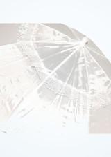 Parasol con mango largo Blanco #2. [Blanco]