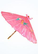 Parasol de seda Rosa. [Rosa]