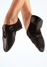 Zapatillas de Jazz con Suela Partida Move Dance Negro. [Negro]