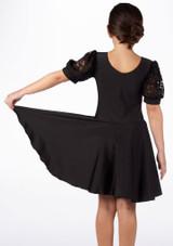 Vestido latino niña Rebecca de Move Black [Negro]