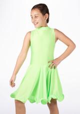 Vestido latino nina Adrina de Move Verde. [Verde]