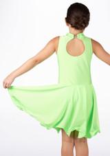 Vestido latino nina Adrina de Move Verde #2. [Verde]