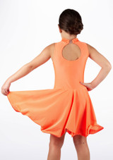 Vestido latino nina Adrina de Move Naranja #2. [Naranja]