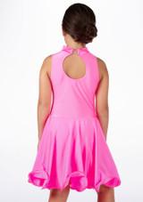 Vestido latino nina Adrina de Move Rosa #2. [Rosa]