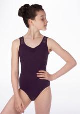 Maillot Ballet Nina con Enacje Floral So Danca Violeta #2. [Violeta]