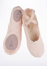 Zapatilla blanda de ballet con suela partida de Repetto Rosa #2. [Rosa]