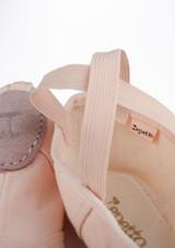 Zapatilla blanda de ballet con suela partida de Repetto Rosa #3. [Rosa]