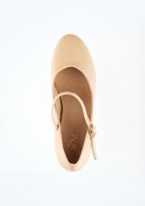 Zapato de caracter 7,5 cm tostado Pippin Move Marrón Claro #2. [Marrón Claro]